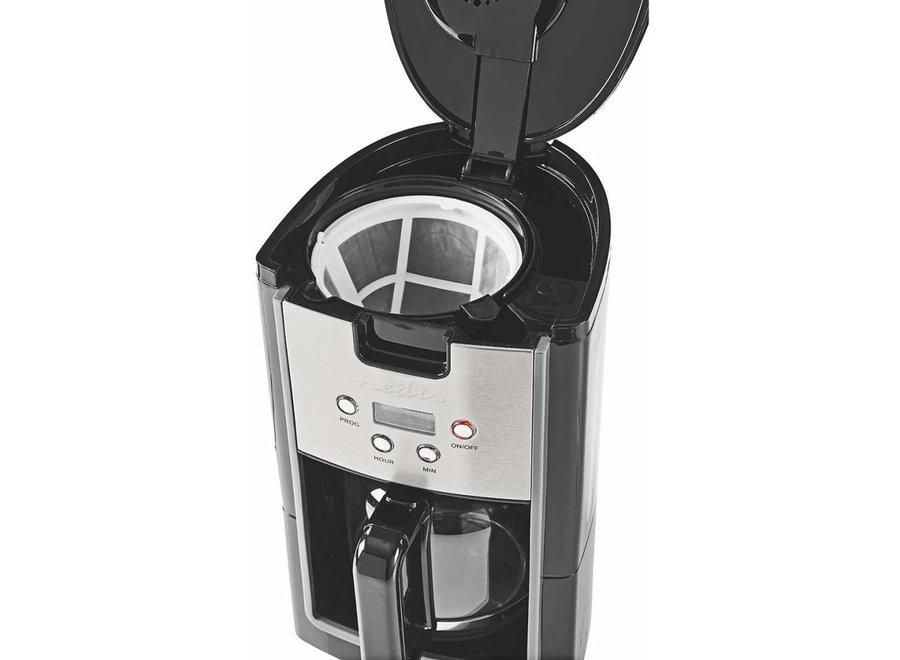 Nedis KACM120EBK Koffiezetapparaat 12-Kops - Zwart