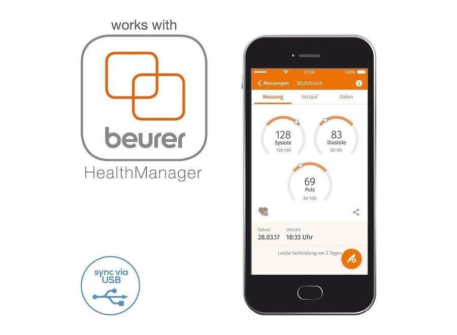 Beurer BC 58 Polsbloeddrukmeter met Touchscreen
