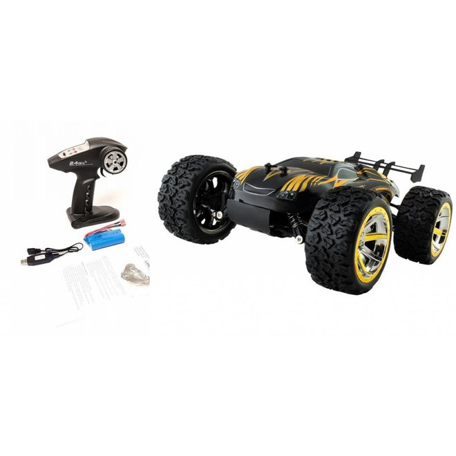 NQD Land Buster Monster Truck RTR 2.4GHz 1:12 - Geel
