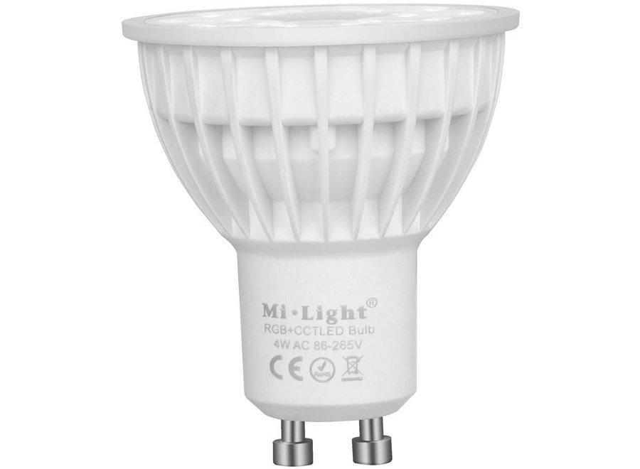Mi-Light GU10 RGB+CCT LED Spot 4 W - Wi-Fi