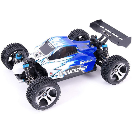 WLtoys WLtoys A959 Offroad Buggy RTR 2.4GHz 1:18 - Blauw