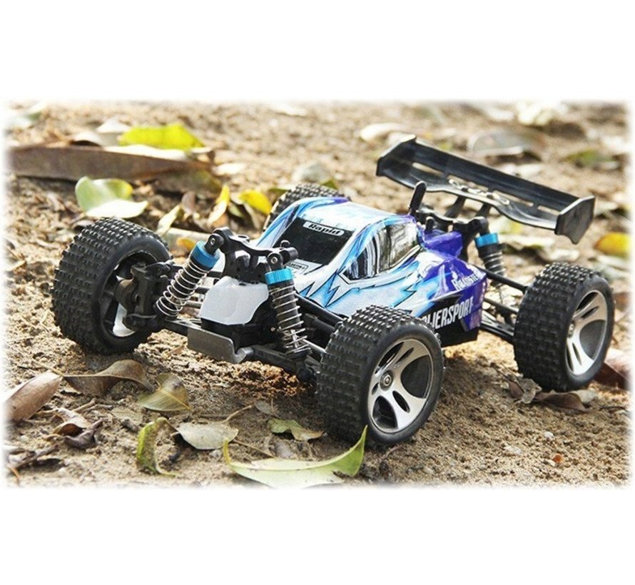 WLtoys A959 Offroad Buggy RTR 2.4GHz 1:18 - Blauw