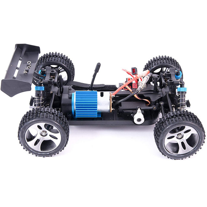 WLtoys A959 Offroad Buggy RTR 2.4GHz 1:18 - Rood
