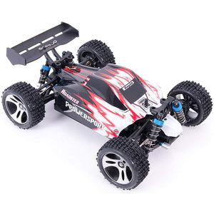 WLtoys WLtoys A959 Offroad Buggy RTR 2.4GHz 1:18 - Rood