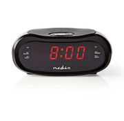 Nedis Nedis CLAR001BK Digitale LED Wekkerradio - 0.6""