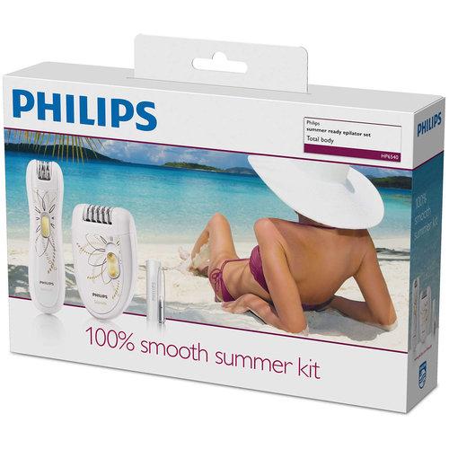 Philips Philips HP6540/00 Epilator met Precisie-trimmer en Pincet