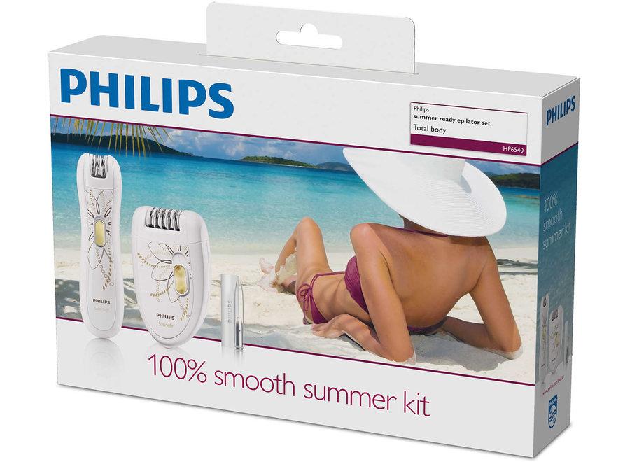 Philips HP6540/00 Epilator met Precisie-trimmer en Pincet