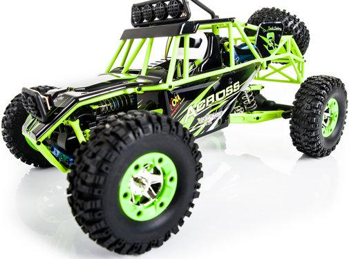 WLtoys WLtoys 12428 Buggy RTR 4WD 2.4GHz 1:12 - Groen