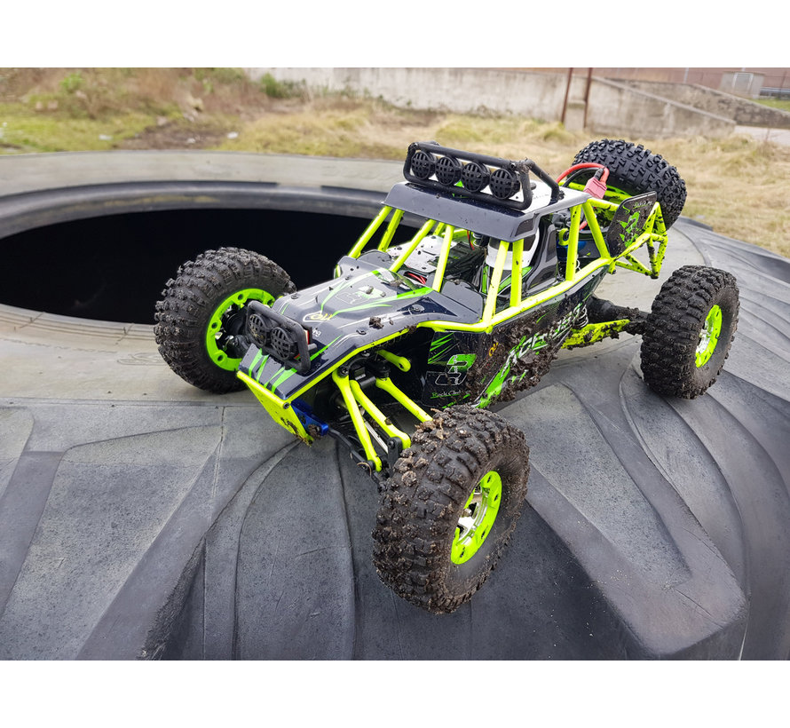 WLtoys 12428 Buggy RTR 4WD 2.4GHz 1:12 - Groen