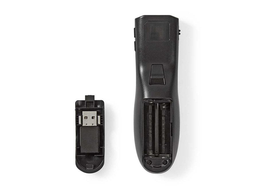 Nedis Presenter Draadloos WLPSRL101BK - Rode Laser