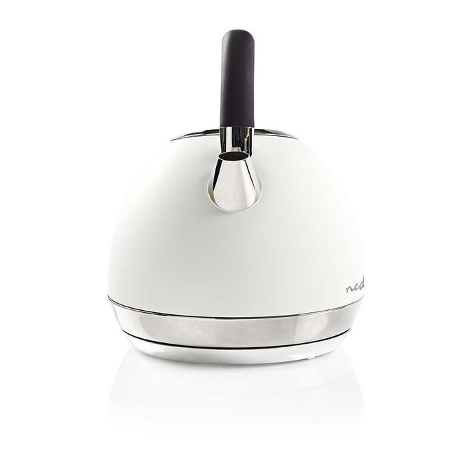 Nedis KAWK520EWT Elektrische Waterkoker Soft-touch 1,8L - Wit