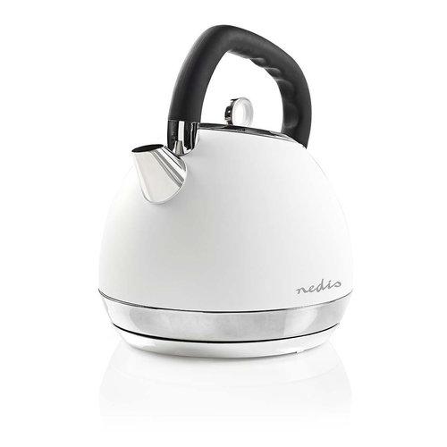 Nedis Nedis KAWK520EWT Elektrische Waterkoker Soft-touch 1,8L - Wit