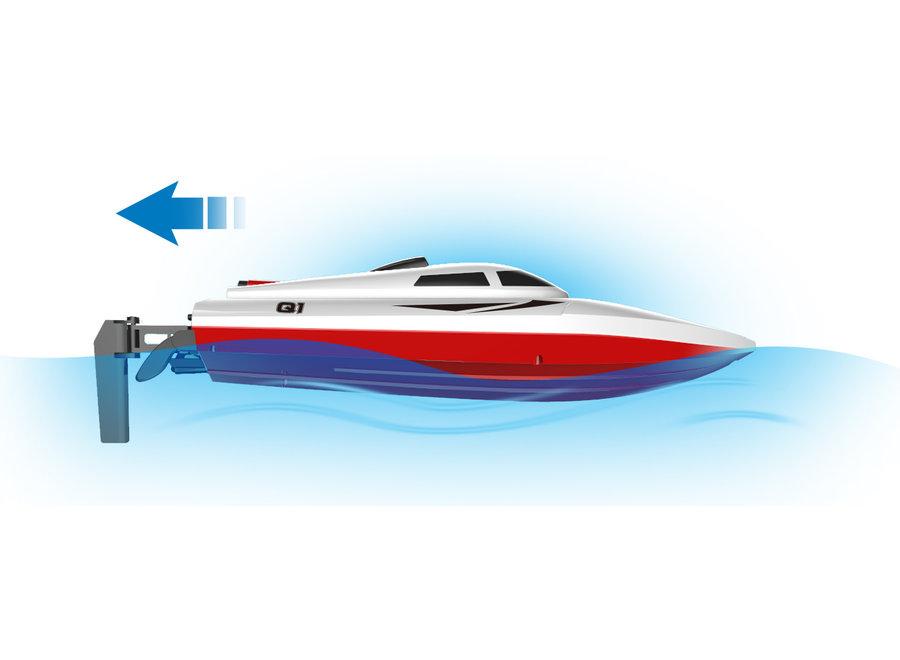 Syma Q1 Pioneer RC Speedboot 2.4GHz 25 KM/U