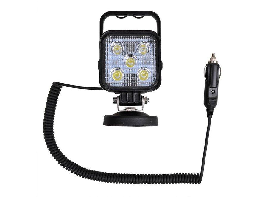 ProPlus LED Werklamp met Spiraalkabel 12V