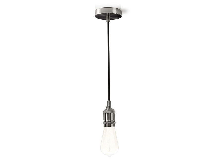 Nedis LPHLE27SI Hanglamp E27 - Staal