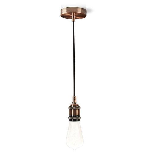 Nedis Nedis LPHLE27CP Hanglamp E27 - Koper