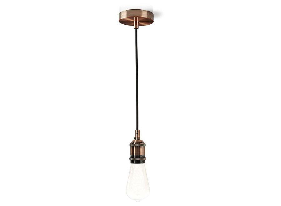 Nedis LPHLE27CP Hanglamp E27 - Koper
