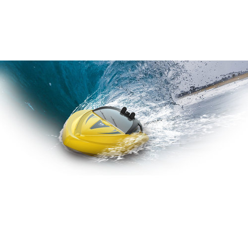 Syma Syma Q5 Mini RC Speedboot 2.4GHz 8 KM/U - Geel