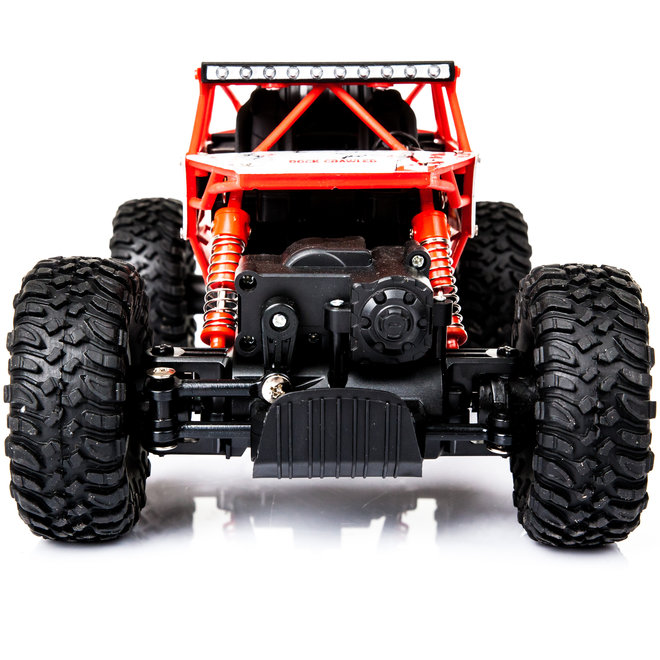 HB P1801 Monster Truck RTR 4WD 2.4GHz 1:18 - Rood