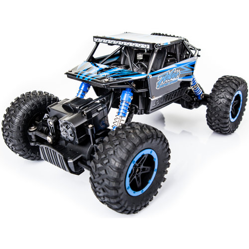 HB HB P1802 Monster Truck RTR 4WD 2.4GHz 1:18 - Blauw