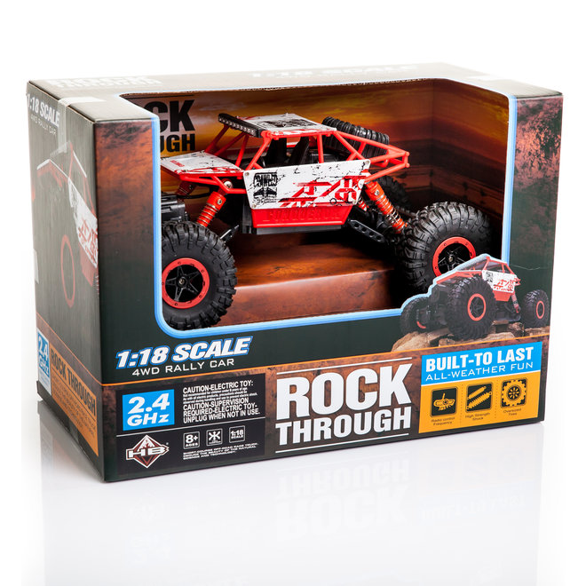 HB P1802 Monster Truck RTR 4WD 2.4GHz 1:18 - Blauw