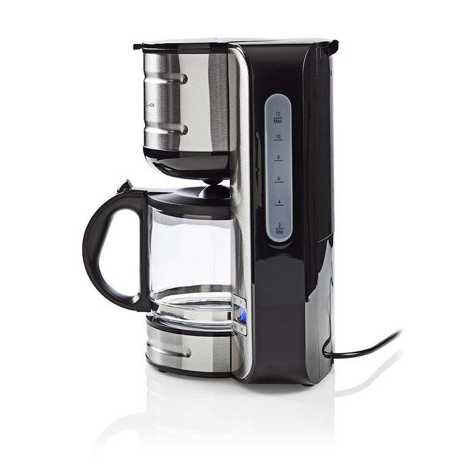 Nedis KACM210EAL Koffiezetapparaat 12-kops - Roestvrij staal