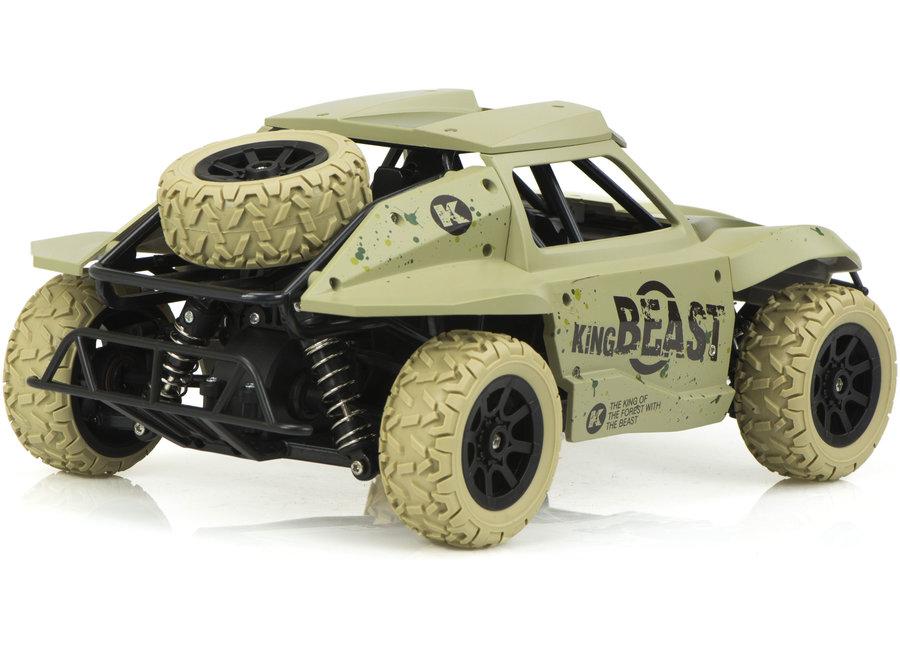 HB DK1803 Racing Rally RTR 4WD 2.4GHz 1:18 - Legergroen