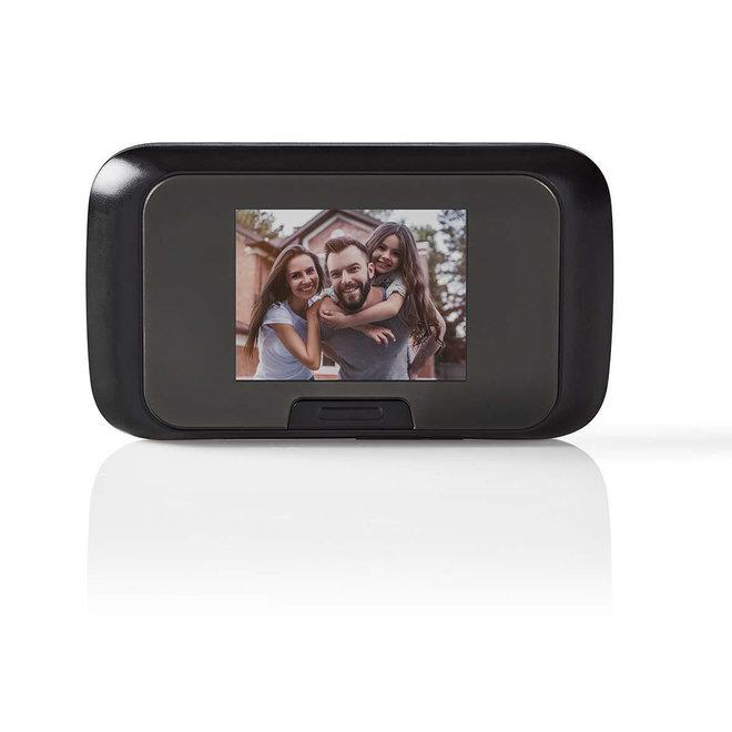 """Nedis DOORS10BK Videodeurspion Kleuren-LCD 2.8"""""""