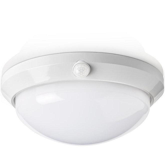 Nedis PIRPO51WT LED Plafondlamp met Sensor en Noodaccu