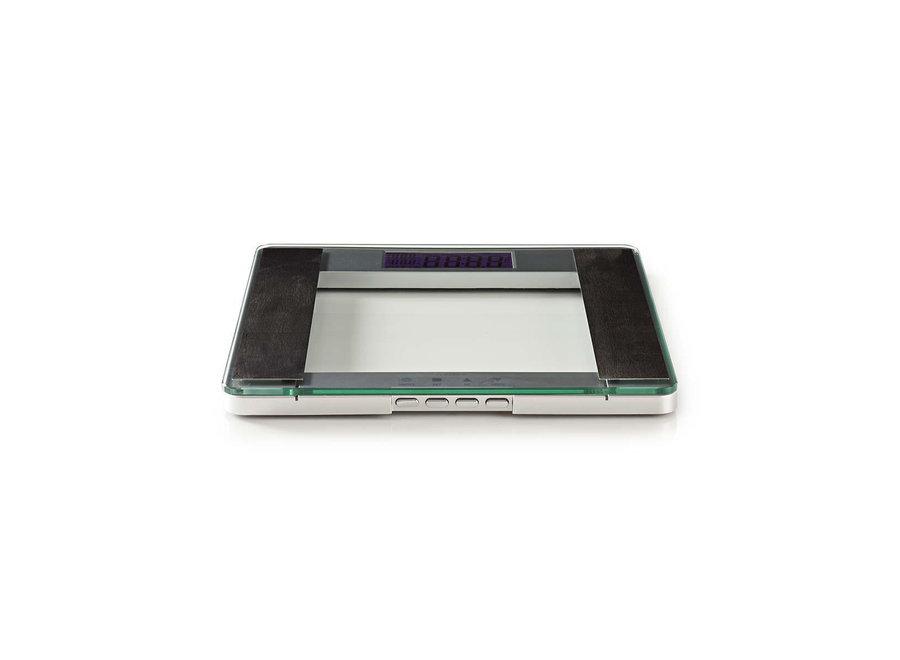 Nedis PESC120DCT Personenweegschaal BMI - Glas