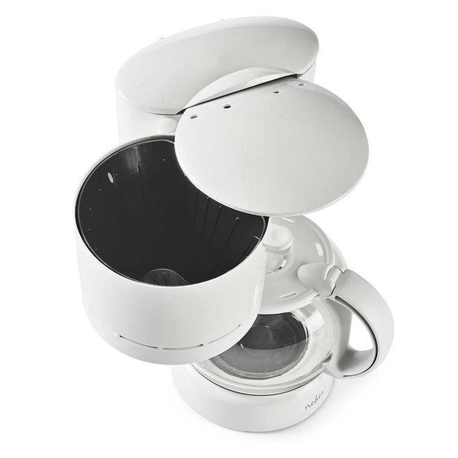 Nedis KACM110EWT Koffiezetapparaat 11-kops - Wit