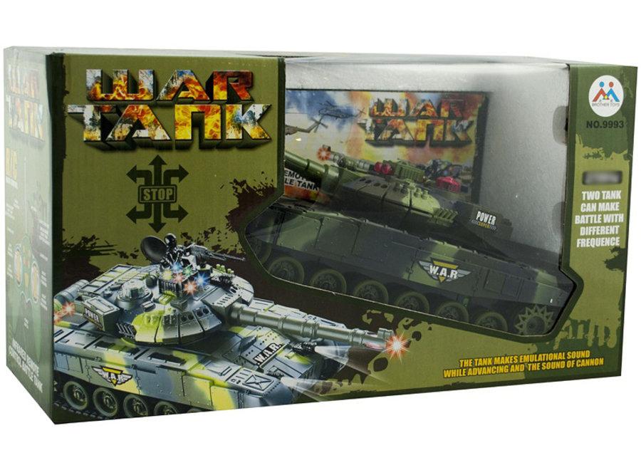 Brother Toys War Tank 9993 2.4GHz - Legergroen
