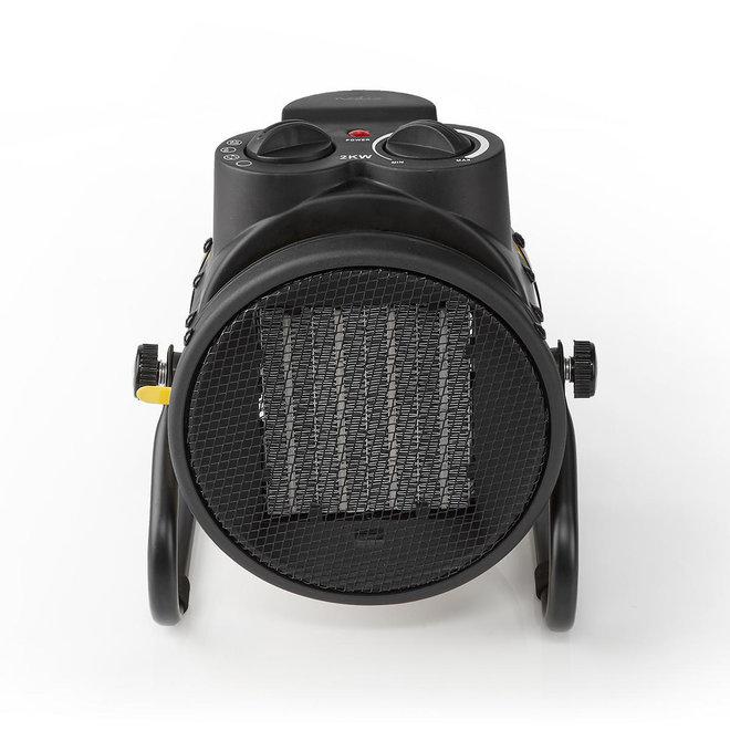 Nedis HTIF20FYW Industriële Keramische Ventilatorkachel - 2000 W