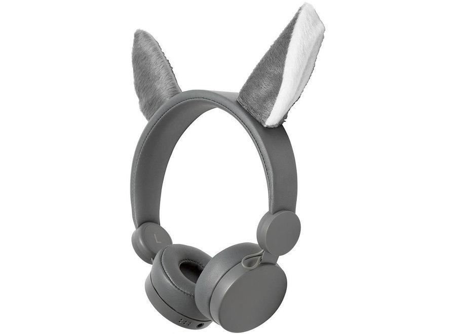 Nedis HPWD4000GY On-Ear Bedrade Koptelefoon - Willy Wolf