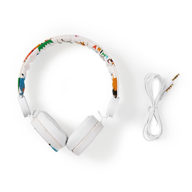 Nedis HPWD4104WT On-Ear Bedrade Koptelefoon - Safari