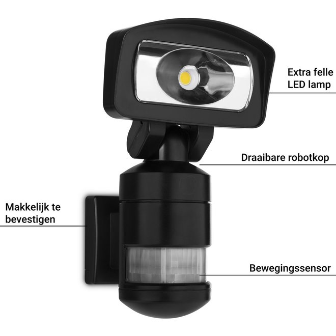 Smartwares FSL-80114 LED Robot Beveiligingslamp