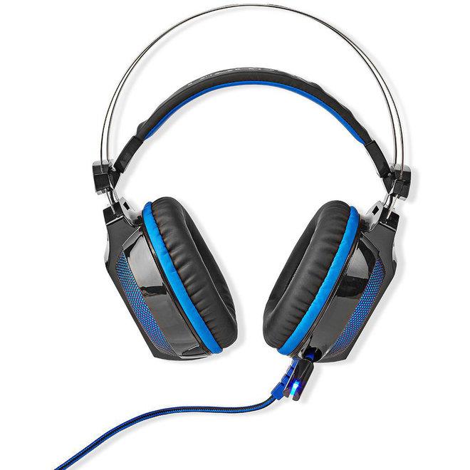 Nedis GHST500BK Wradrin Over-ear LED Gaming