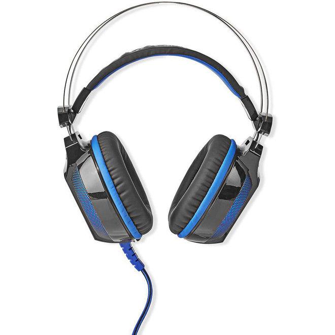 Nedis GHST500BK Wradrin Over-ear LED Gaming Headset