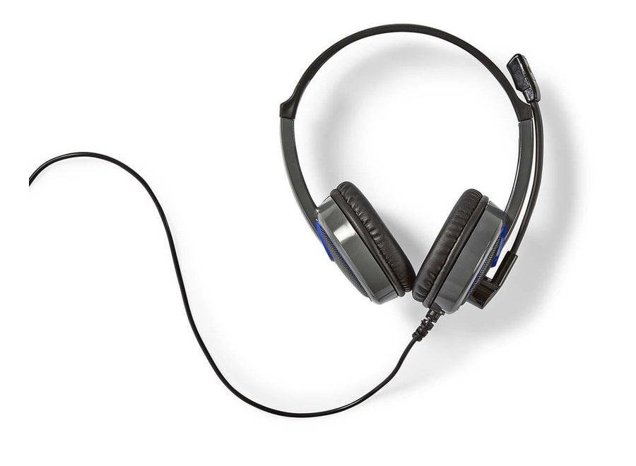 Nedis GHST200BK Wralon Over-ear Gaming Headset