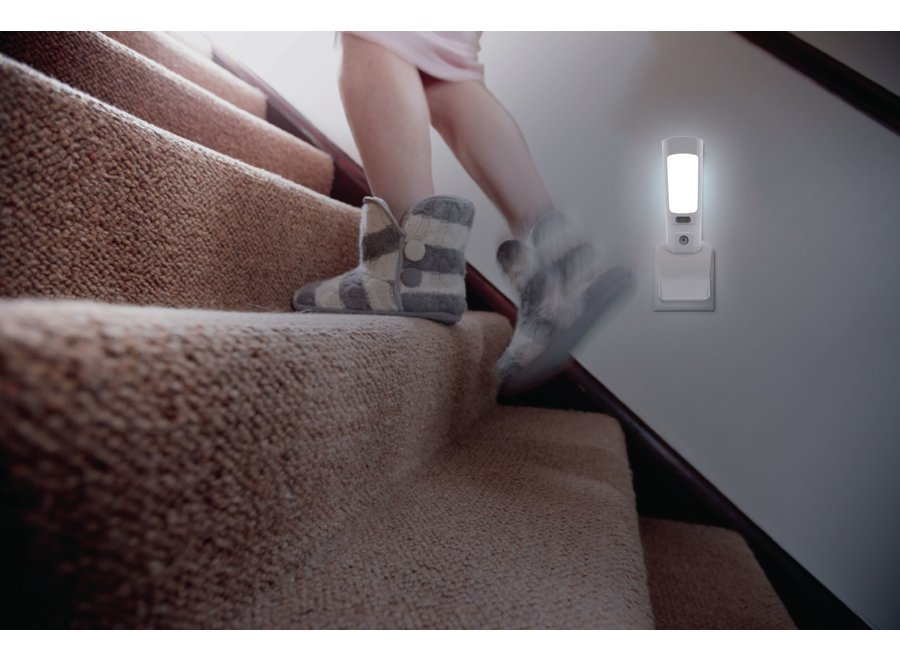 Nedis LNLGTRHWT LED Oriëntatieverlichting en Zaklamp