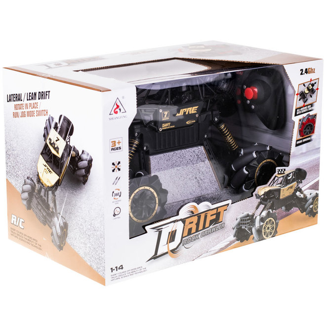 Shuanfeng 2021 Drift Rock Crawler RTR 2.4GHz 1:14 - Goud