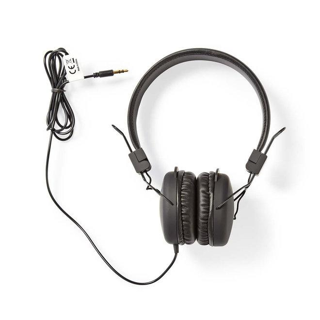 Nedis HPWD1100BK On-Ear Bedrade Koptelefoon - Zwart