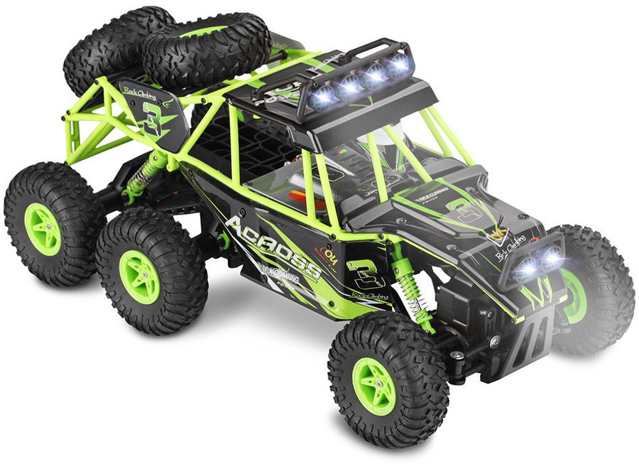 WLtoys 18628 Buggy RTR 6WD 2.4GHz 1:18 - Groen