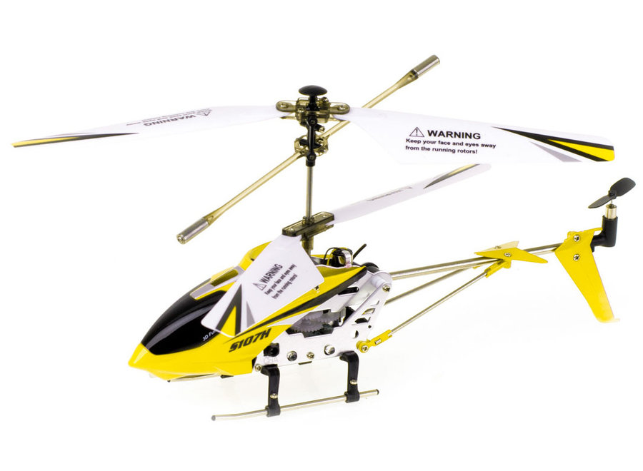 Syma S107H Phantom RC Helicopter - Geel