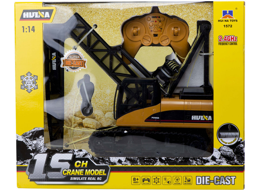 H-Toys 1572 RC Bouwkraan RTR 2.4GHz 1:14