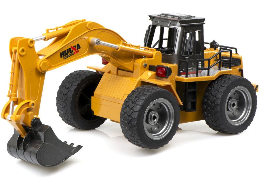 H-Toys 1530 RC Bulldozer Graafmachine RTR 2.4GHz 1:18