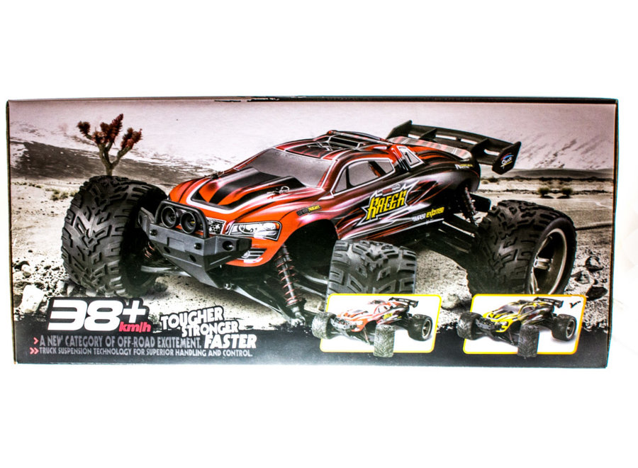 XinLeHong Toys 9116 Truck RTR 2WD 2.4GHz 1:12 - Geel