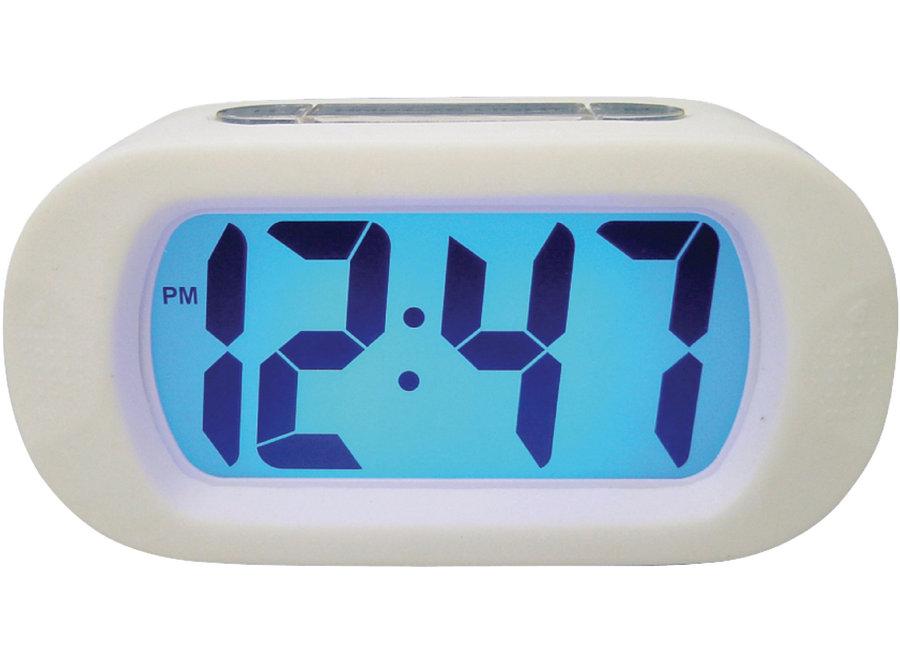 Balance Time 262813 Kwartswekker LCD Digitaal - Wit