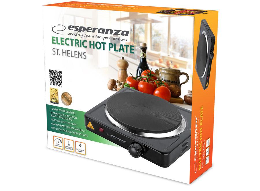 Esperanza St.Helens Elektrische Kookplaat - 1 pits