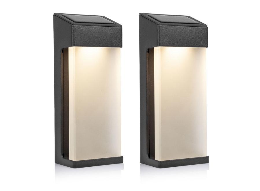 Smartwares OSL-50010 Solar LED Wandlamp - 2-pack